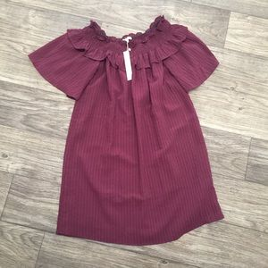 Dresses & Skirts - Nordstrom dress with tags! New maroon fall dress
